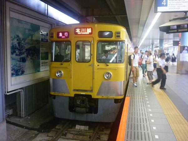 2014-07-28 西武2057F+2419F 急行本川越行き 2655レ