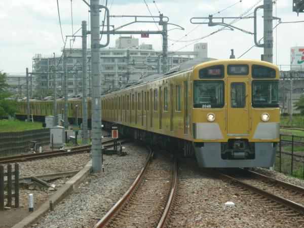 2014-07-28 西武2509F+2047F 急行拝島行き 2317レ