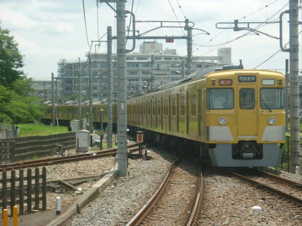 2014-07-28 西武2517F+2025F 急行西武新宿行き2 2330レ