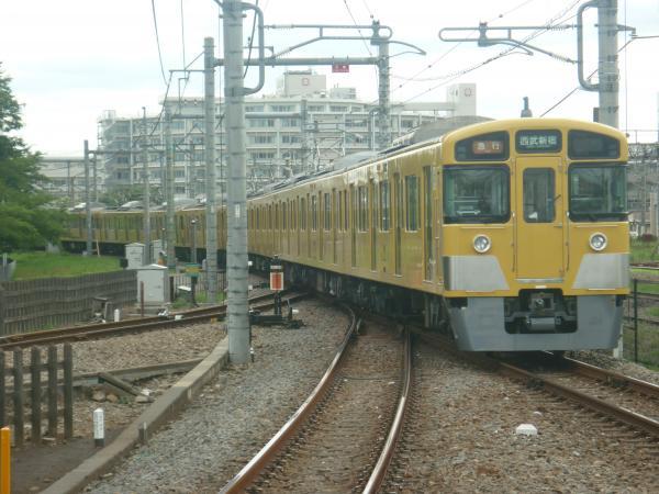 2014-07-28 西武2535F+2049F 急行西武新宿行き 2328レ