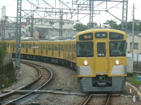 2014-07-28 西武2535F+2049F 急行拝島行き 2313レ