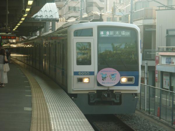 2014-07-28 西武6155F 準急新木場行き1 4584レ
