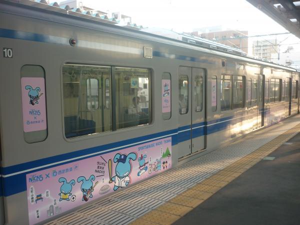 2014-07-28 西武6155F 側面車体広告