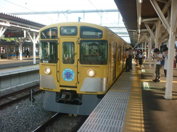 2014-07-28 西武9108F 急行池袋行き 2166レ