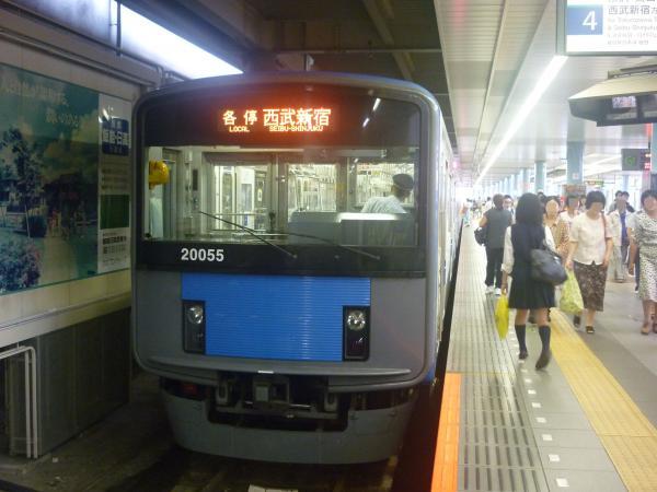 2014-07-28 西武20155F 各停西武新宿行き 5634レ