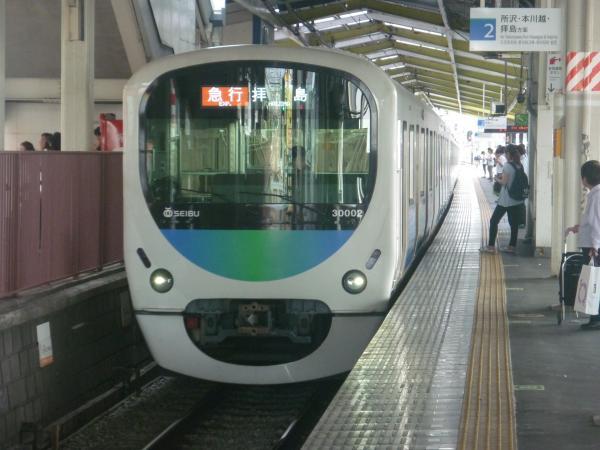 2014-07-28 西武30102F 急行拝島行き 2311レ