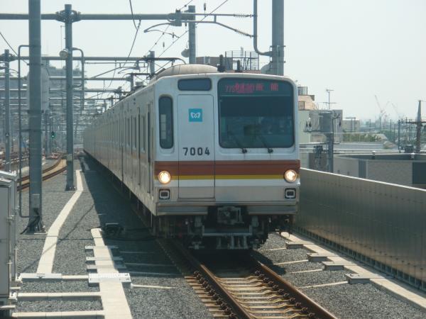 2014-07-30 メトロ7104F 快速急行飯能行き 1701レ