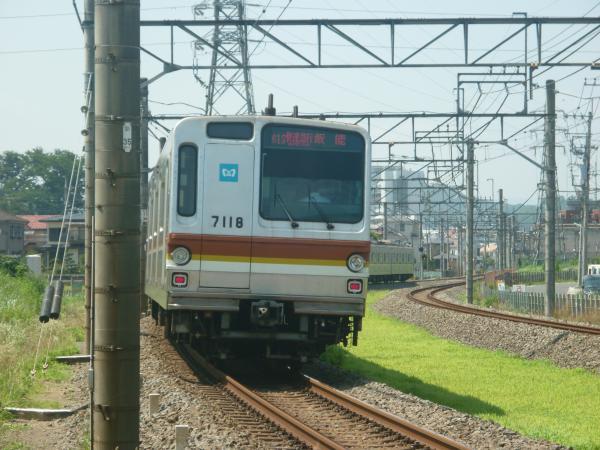 2014-07-30 メトロ7118F 快速急行飯能行き2 1705レ
