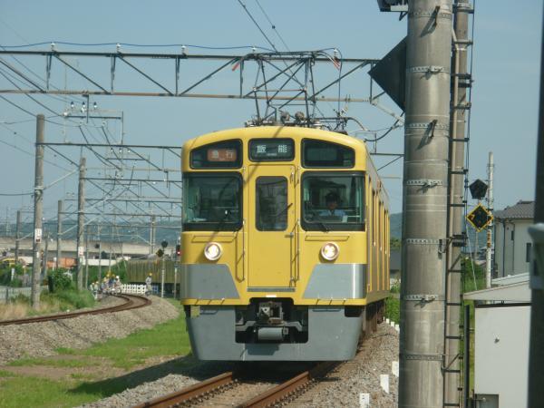 2014-07-30 西武2463F+2077F 急行飯能行き 2147レ