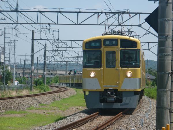 2014-07-30 西武2463F+2077F 準急飯能行き 4129レ