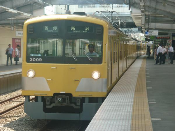 2014-07-30 西武3009F 各停所沢行き1 5303レ