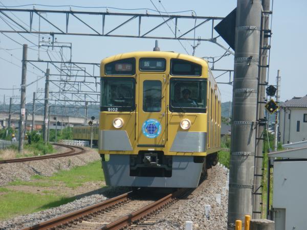 2014-07-30 西武9102F 急行飯能行き 2139レ