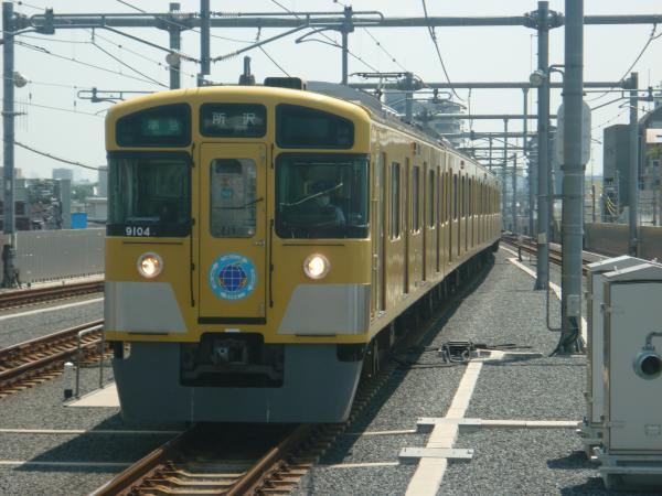 2014-07-30 西武9104F 準急所沢行き 4303レ