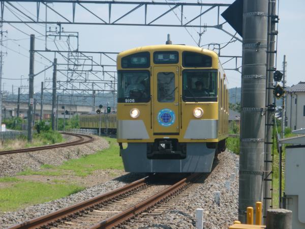 2014-07-30 西武9106F 準急飯能行き 4127レ