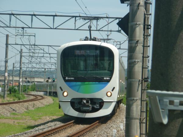 2014-07-30 西武32101F+38103F 急行池袋行き 4131レ