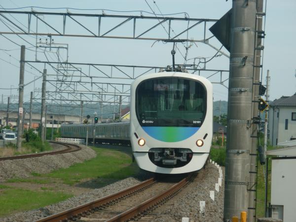 2014-07-30 西武32101F+38103F 急行飯能行き 2151レ