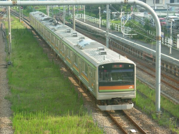 2014-07-30 八高線205系ハエ84編成 川越行き