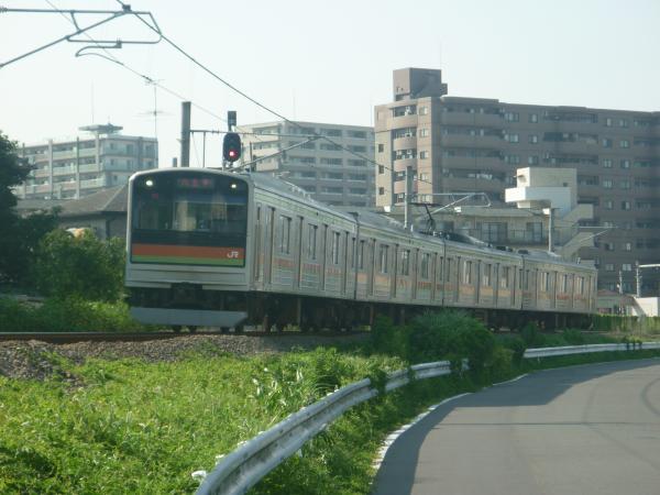 2014-07-30 八高線205系ハエ84編成 八王子行き