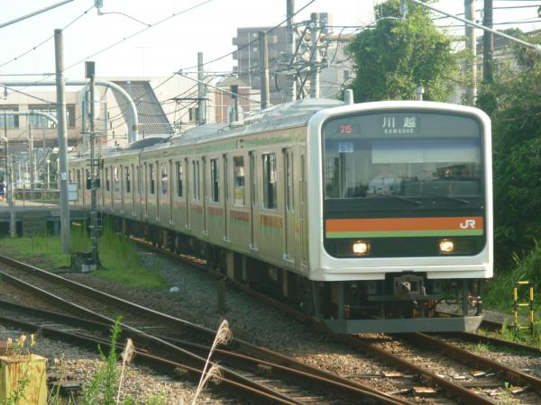 2014-07-30 八高線209系ハエ62編成 川越行き