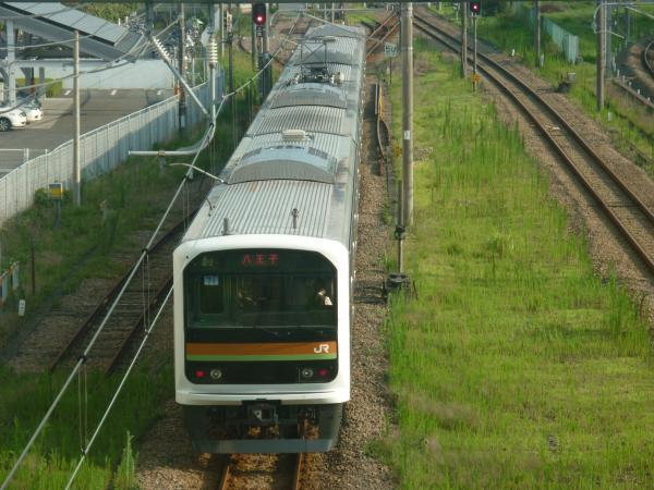 2014-07-30 八高線209系ハエ71編成 八王子行き