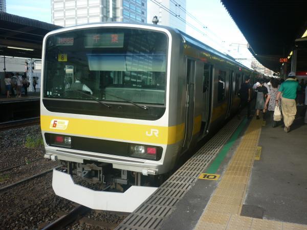 2014-08-03 総武線E231系ミツB8編成 千葉行き