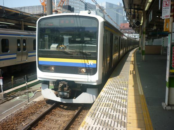 2014-08-03 房総地区209系マリC432編成 成田行き