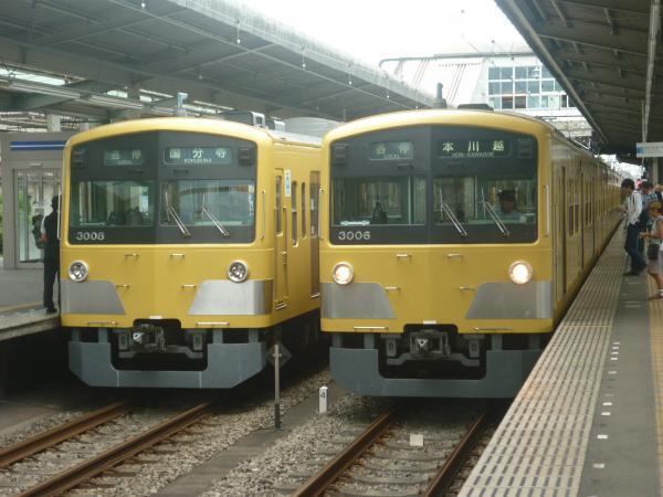 2014-07-28 西武3005F 3007F