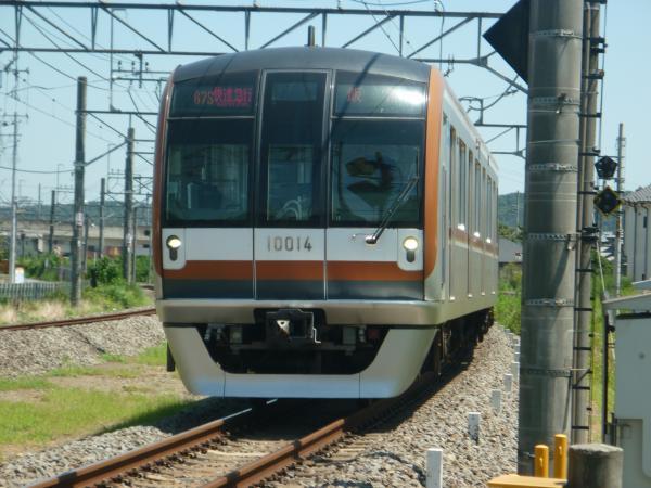2014-08-06 メトロ10114F 快速急行飯能行き 1703レ