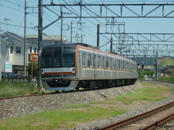 2014-08-06 メトロ10114F 快速急行元町・中華街行き2 1706レ