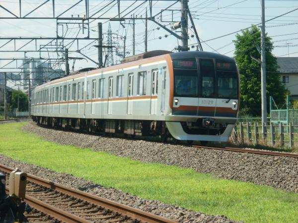 2014-08-06 メトロ10129F 快速急行元町・中華街行き1 1708レ