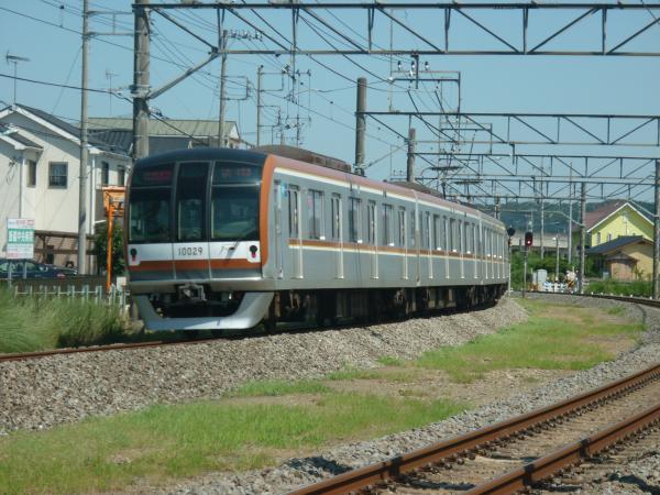 2014-08-06 メトロ10129F 快速急行元町・中華街行き2 1708レ