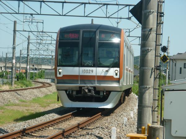 2014-08-06 メトロ10129F 快速急行飯能行き 1705レ