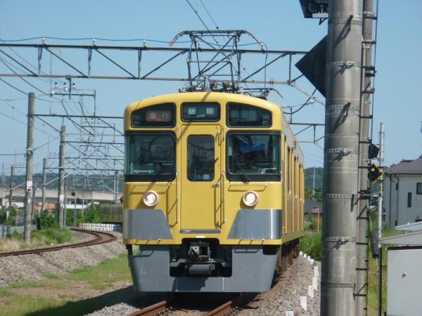 2014-08-06 西武2459F+2085F 急行飯能行き 2145レ