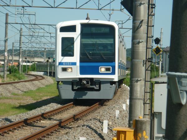 2014-08-06 西武6151F 回送表示 1707レ