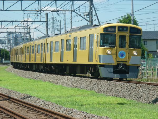 2014-08-06 西武9101F 急行池袋行き 2138レ