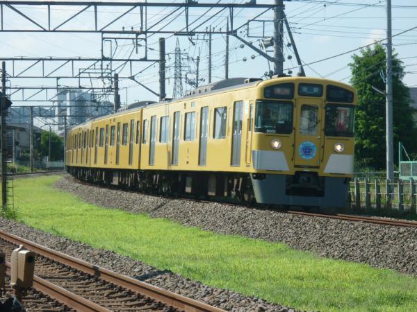 2014-08-06 西武9101F 急行池袋行き1 2152レ