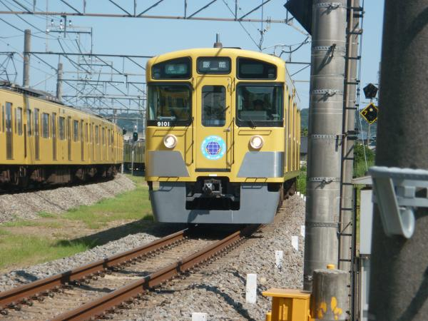 2014-08-06 西武9101F 準急飯能行き 4135レ