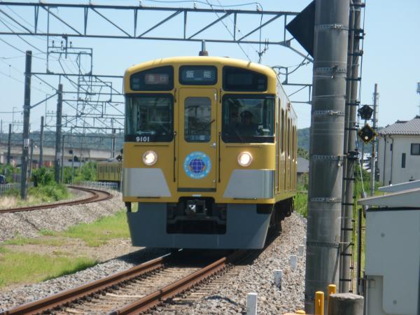 2014-08-06 西武9101F 急行飯能行き 2133レ