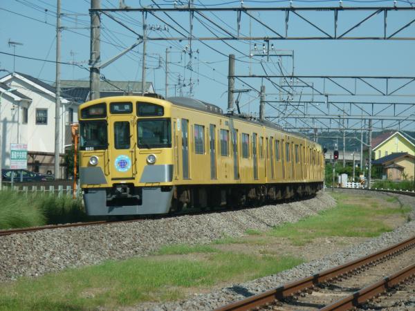 2014-08-06 西武9101F 急行池袋行き2 2152レ