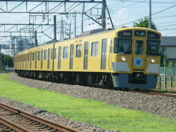 2014-08-06 西武9102F 急行池袋行き 2146レ
