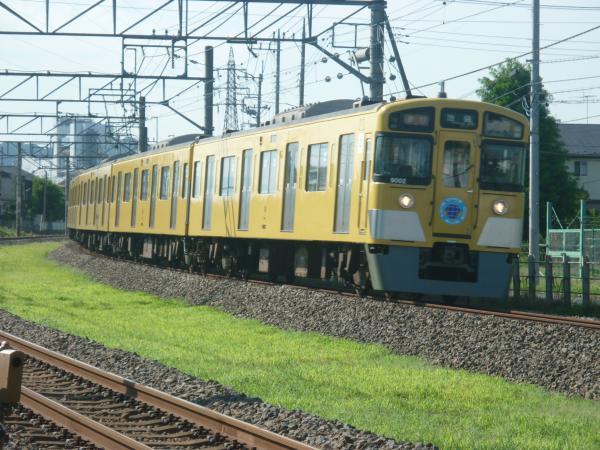 2014-08-06 西武9102F 急行池袋行き 2156レ