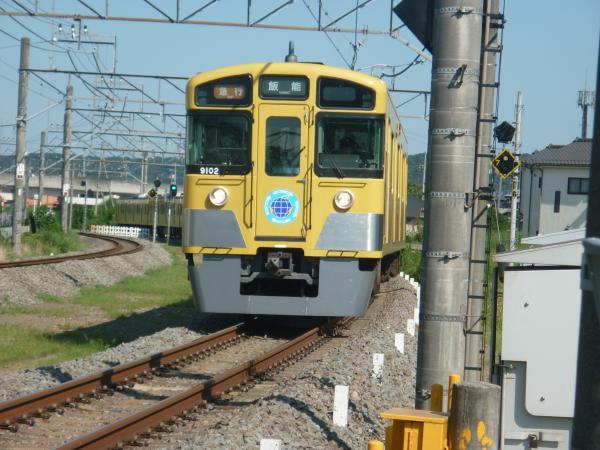 2014-08-06 西武9102F 急行飯能行き 2151レ