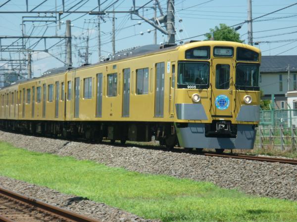 2014-08-06 西武9105F 回送