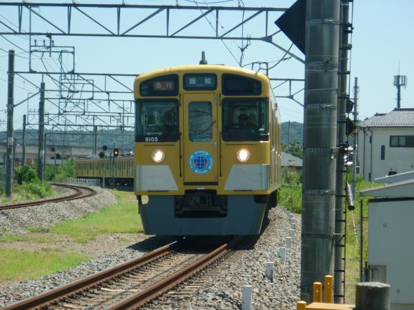 2014-08-06 西武9105F 急行飯能行き 2129レ