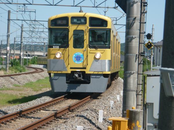 2014-08-06 西武9108F 急行飯能行き 2143レ
