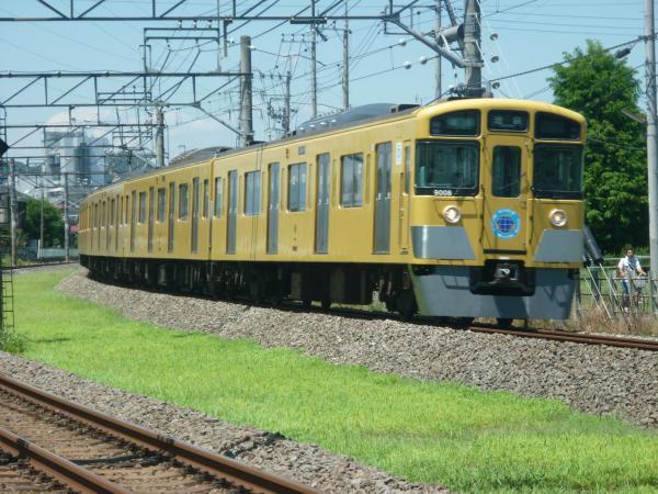 2014-08-06 西武9108F 準急池袋行き 4110レ