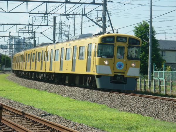 2014-08-06 西武9108F 準急池袋行き 4118レ