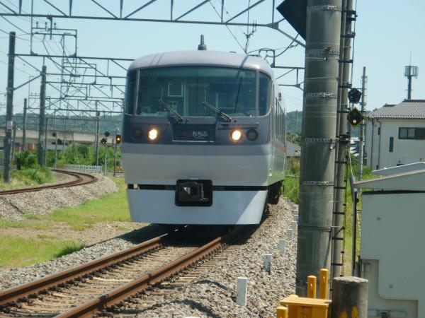 2014-08-06 西武10107F 特急西武秩父行き 13レ