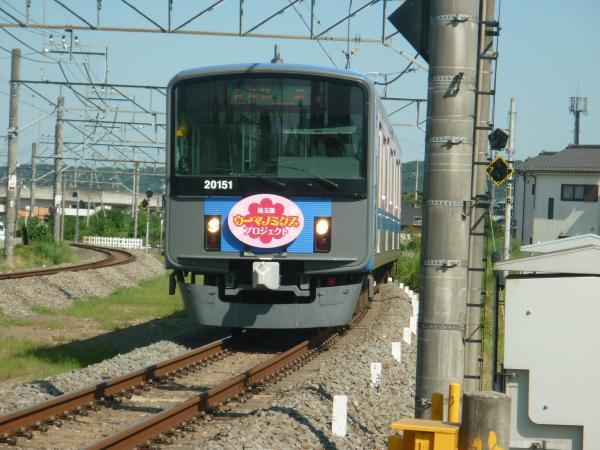 2014-08-06 西武20151F 各停飯能行き 5119レ