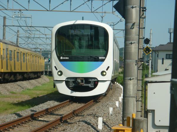 2014-08-06 西武30101F 準急飯能行き 4139レ